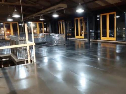 zijlstra betonvloer gepolijst verdieping harlingen