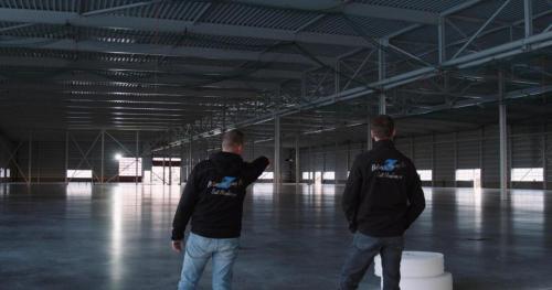 zijlstra industrie betonvloer loods 4600m